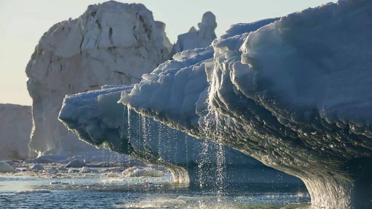 Вчені занепокоєні таненням найдавнішого льоду у світі