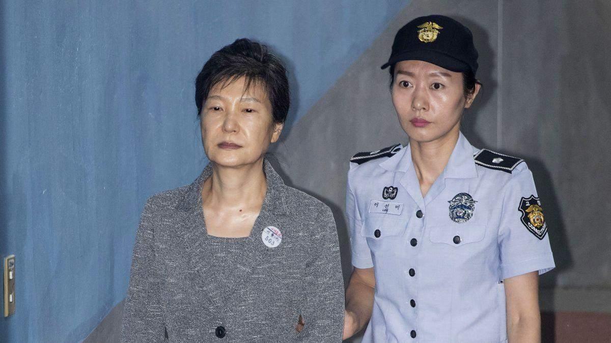 Експрезидентку Южной Кореи посадили на 20 лет за коррупцию