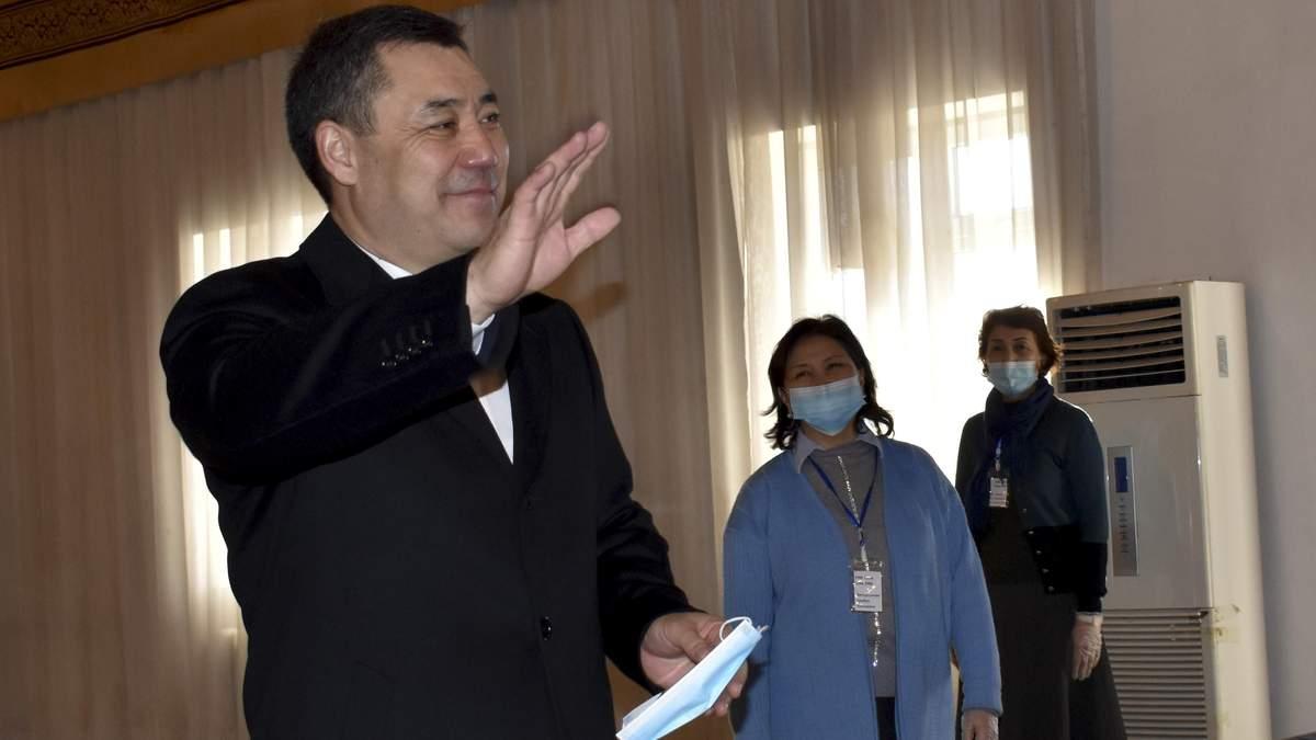 Садир Жапаров - президент Киргизстана