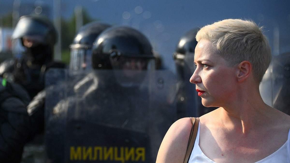 Суд у Білорусі залишив опозиціонерку Колеснікову під арештом