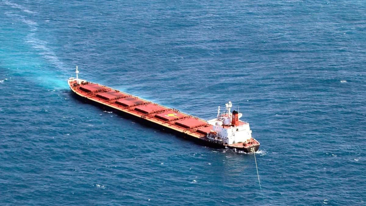 Суховантаж з українцями затонув біля Туреччини 17.01.2021