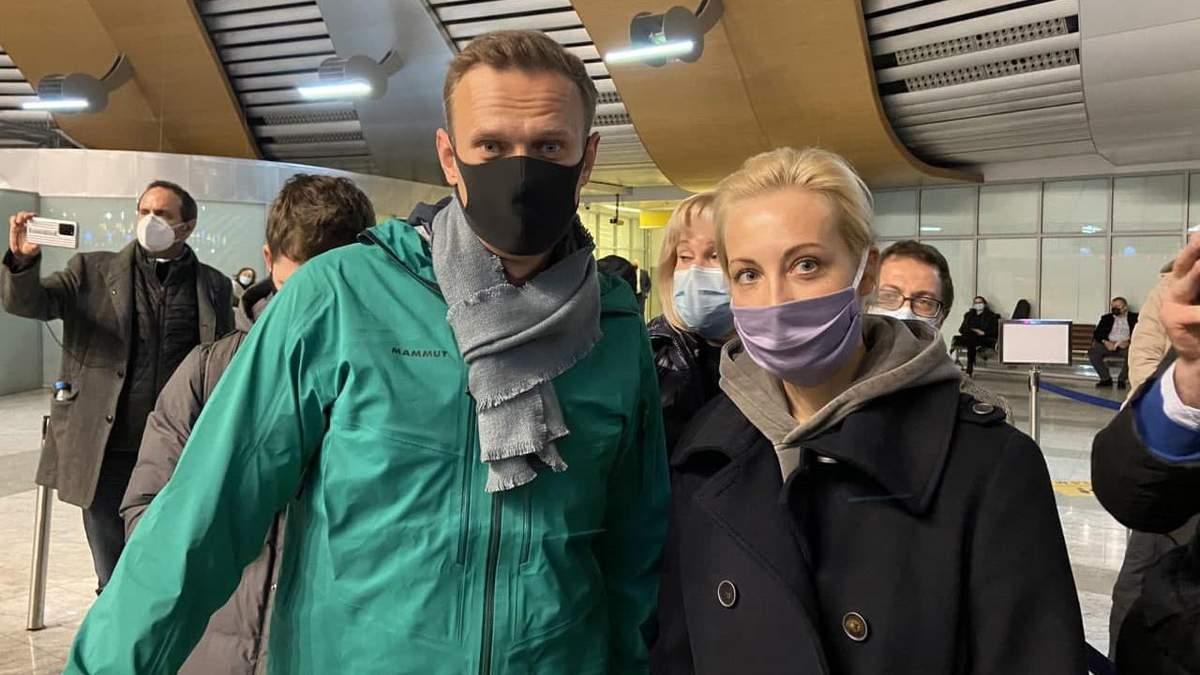 Что сказал Навальный после возвращения в Россию: видео