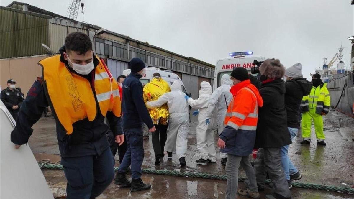 Судно Арвин затонуло у Турции 17.01.2021: число жертв возросло