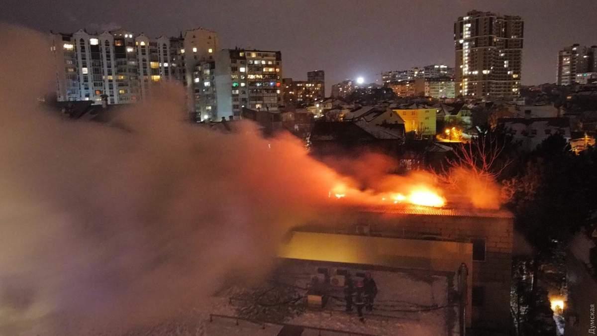 В Одессе на Посмитного в хостеле произошел смертельный пожар: что рассказали очевидцы