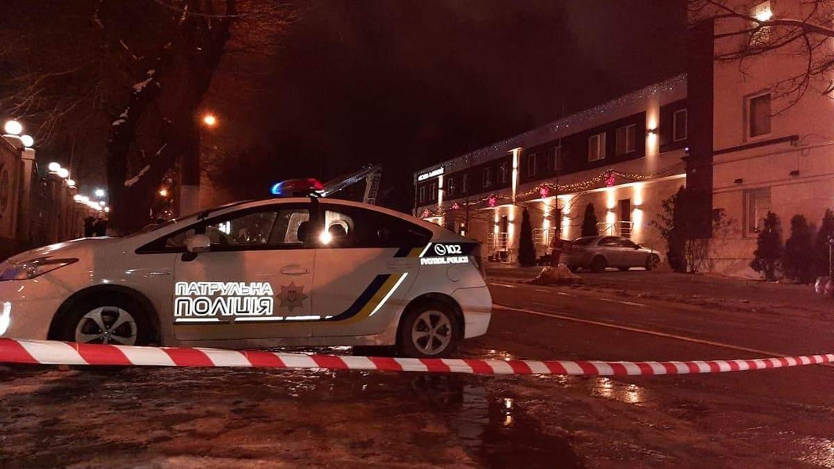 Предварительные причины пожара в гостинице Одессы: данные Нацполиции