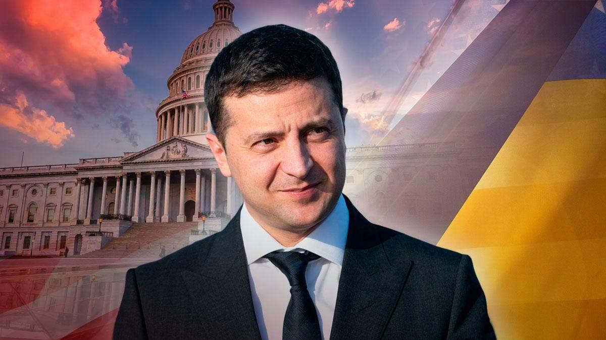 Володимир Зеленський привітав Джо Байдена з інавгурацією