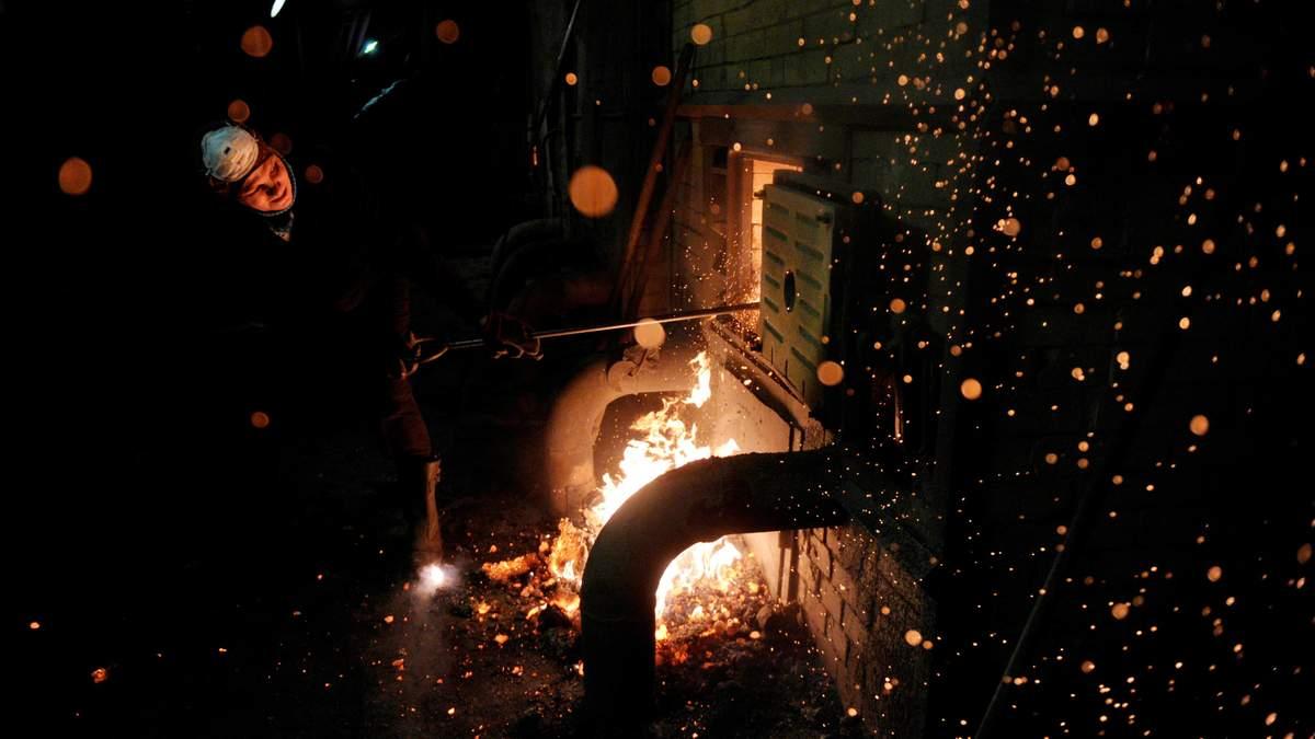 В Украине критическая ситуация с запсамы угля на складах ТЭС