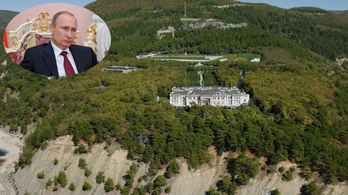 Дворец Путина в Геленджике на карте: фото особняка