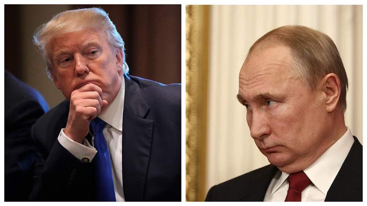 Трамп міг розмовляти з Путіним у день штурму Капітолію