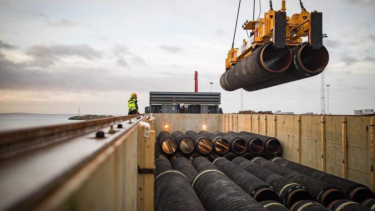 Європарламент вимагає зупинити будівництво Північного потоку-2