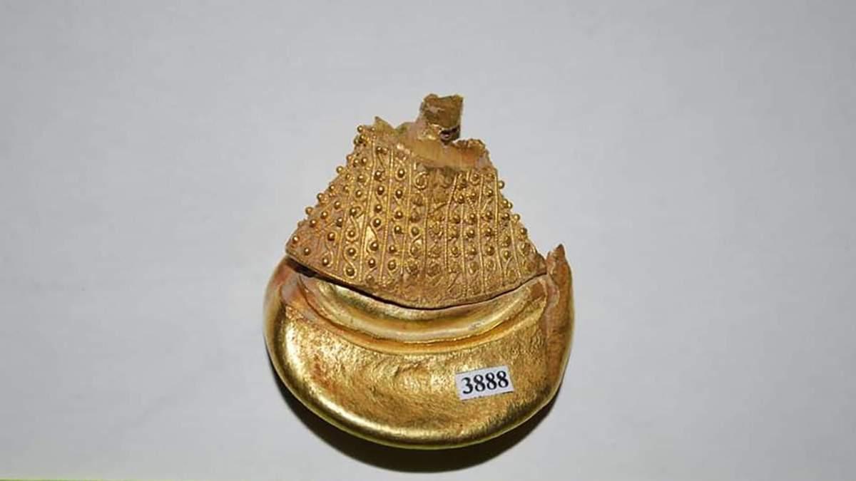 На Закарпатье археологи обнаружили уникальное золотое украшение: фото