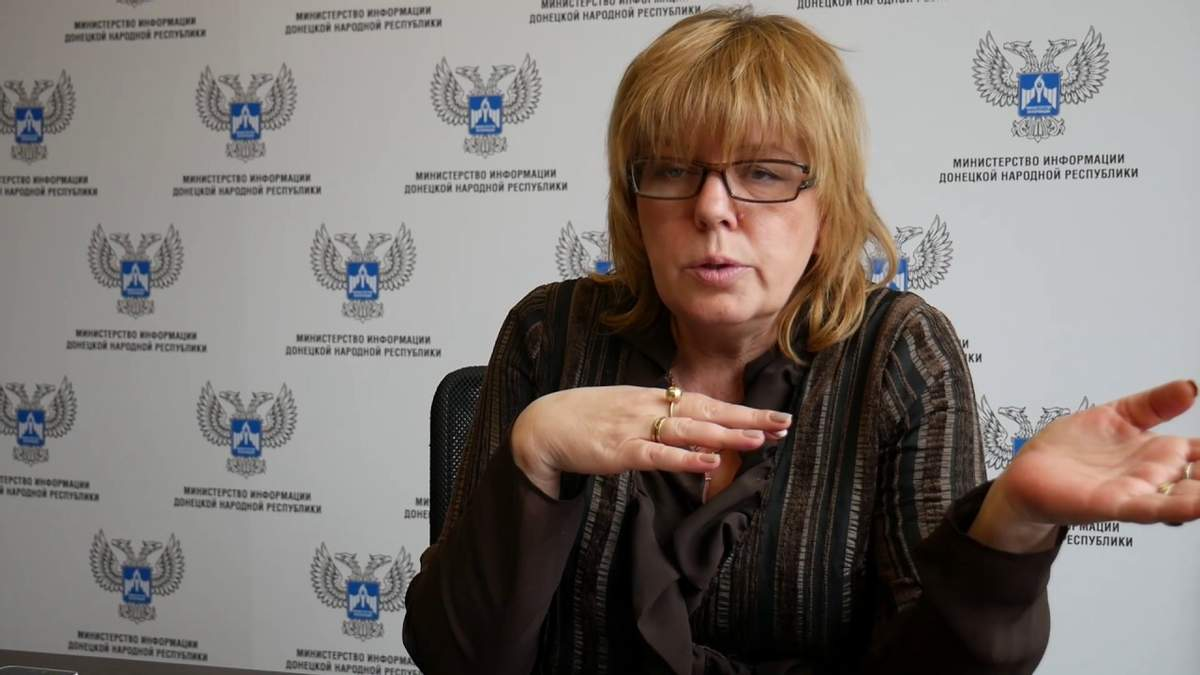ТКГ - бойовики проштовхують в переговори пропагандистку Пирогову