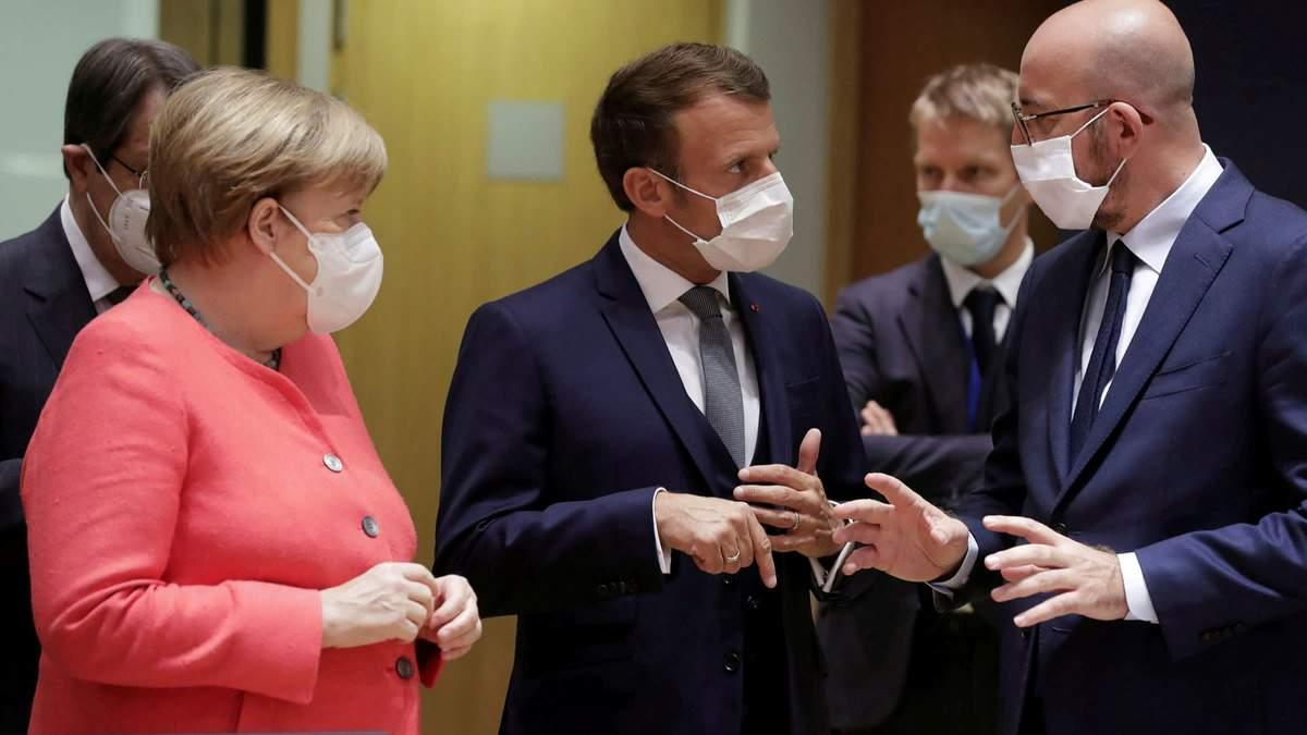 Європейські лідери обговорили COVID-19