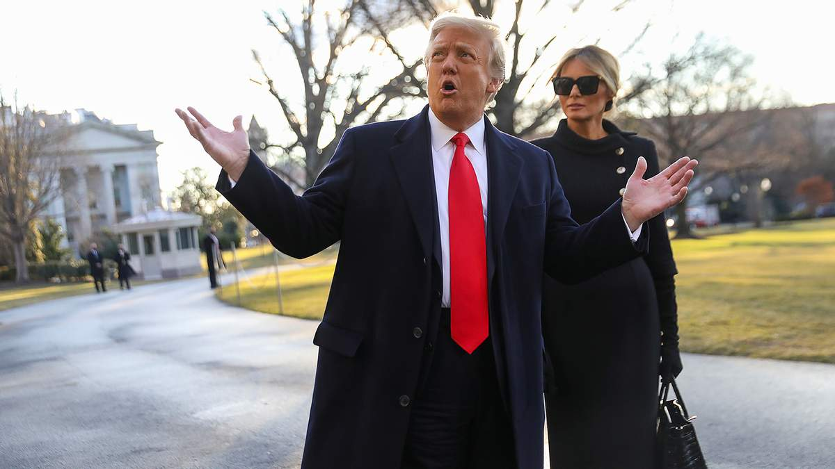 ЩЧто-то сделаем, - Трамп впервые рассказал о планах на будущее