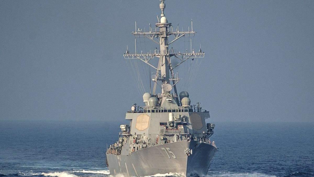 Перший у 2021 році: есмінець США увійшов у Чорне море