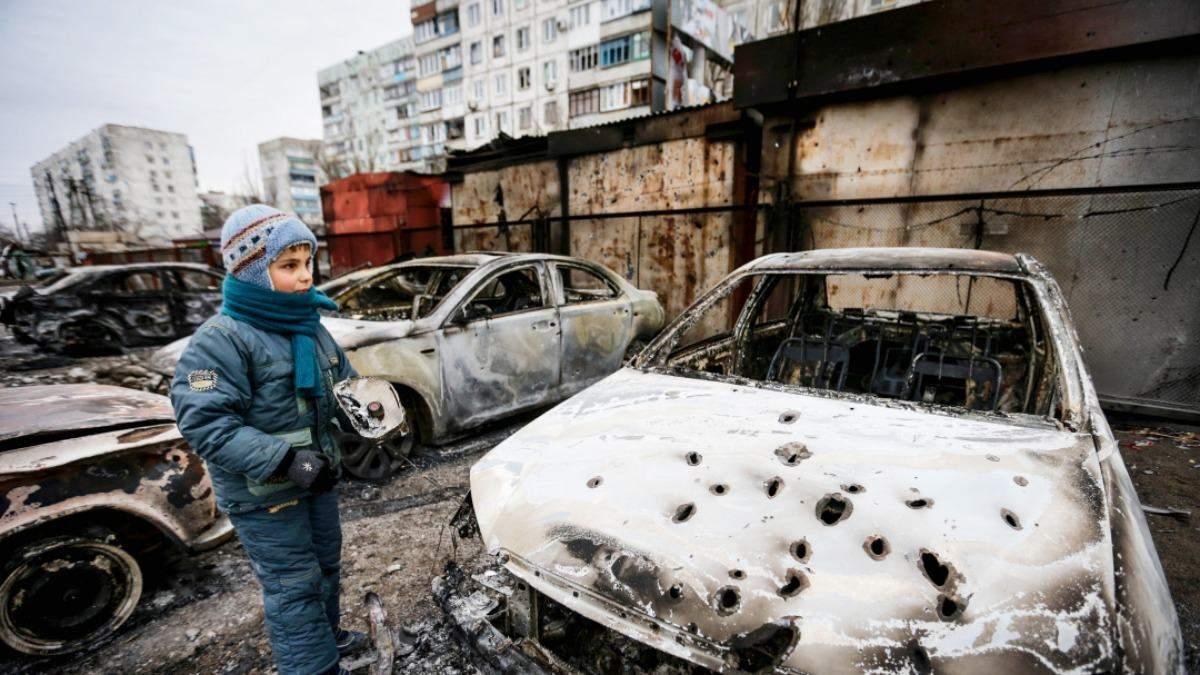 В Україні 24 січня 2021 – 6 річниця обстрілу Маріуполя: фото