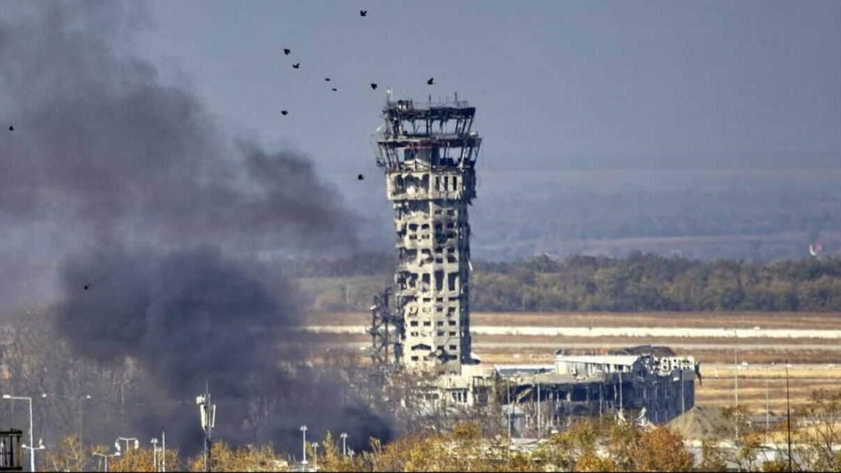 Во Львове установят копию башни Донецкого аэропорта: фото