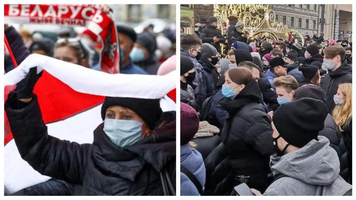 Чем закончатся протесты в России и Беларуси?