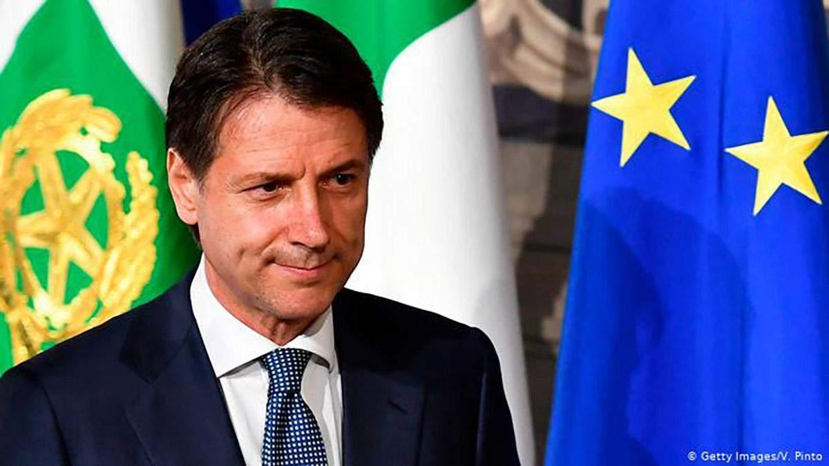 Прем'єр Італії Джузеппе Конте знову подасть у відставку