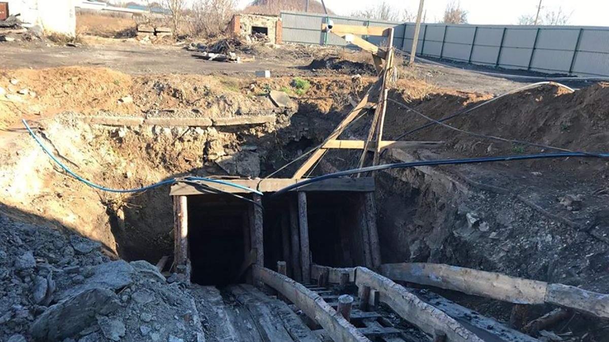В Донецкой области незаконно добывали уголь: злоумышленников поймали