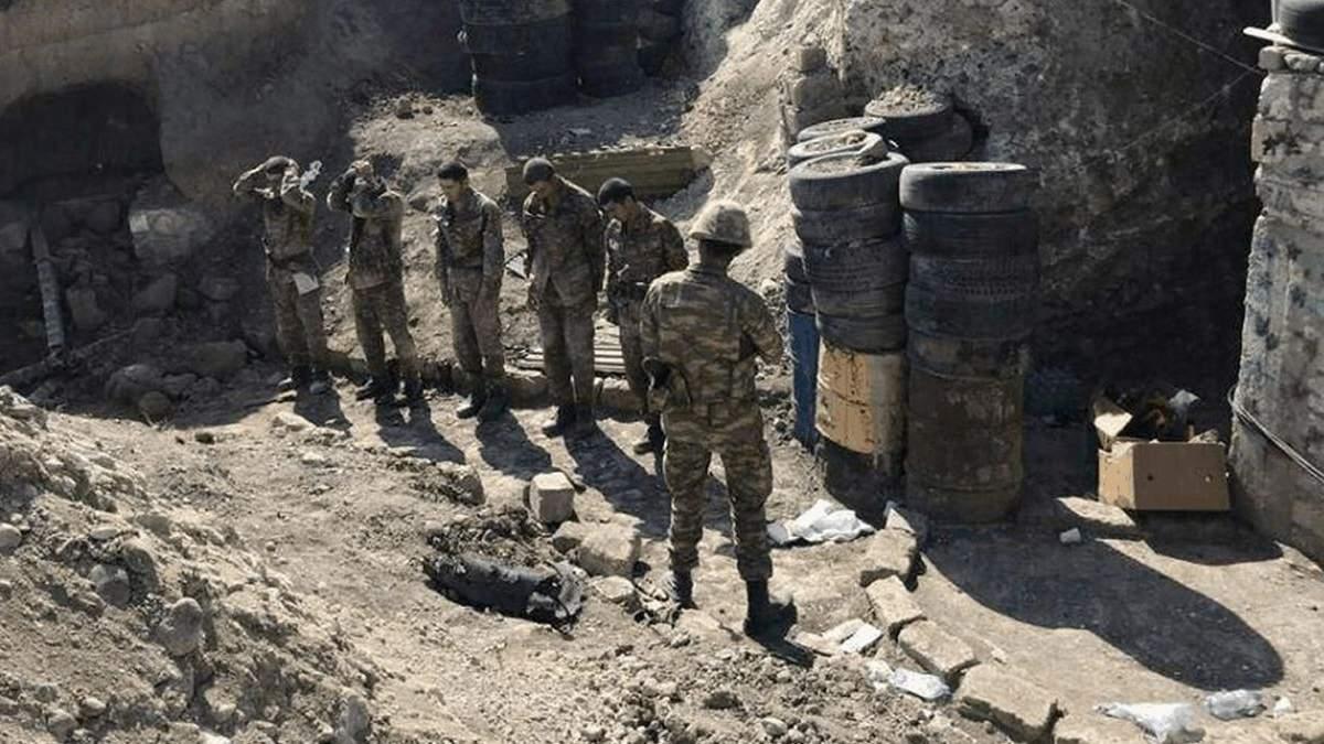Азербайджан звільнив 5 військовополонених вірмен
