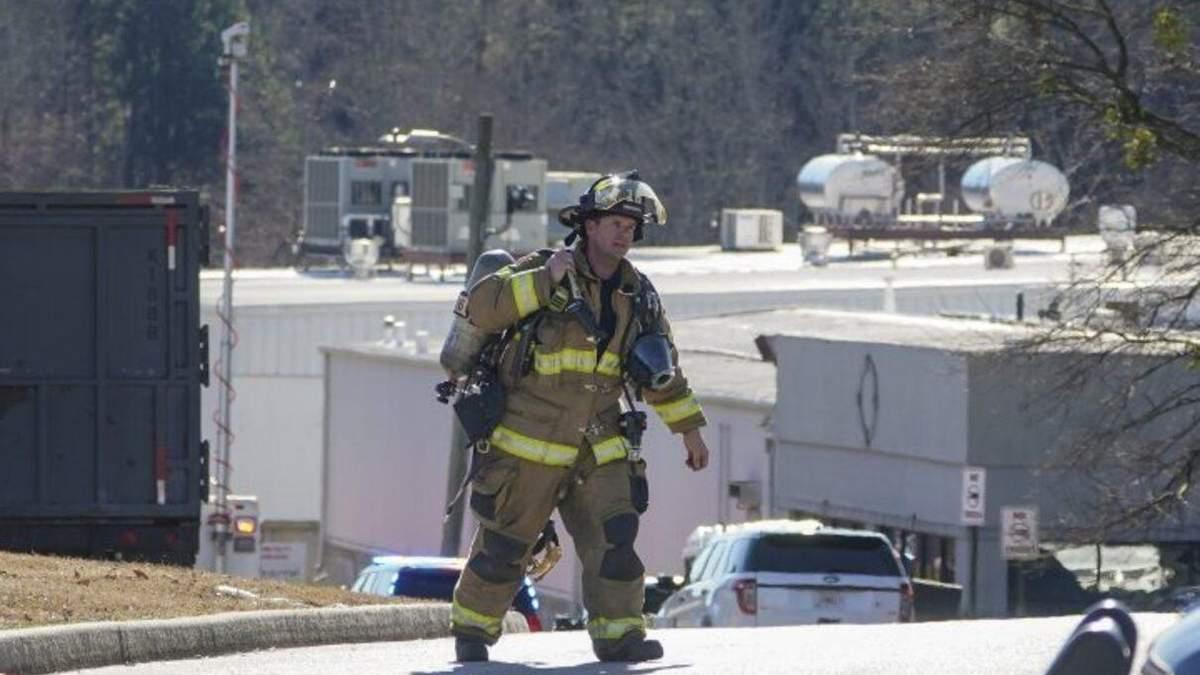 Утечка химикатов на заводе в Джорджии, США, 28.01.2021: есть погибшие