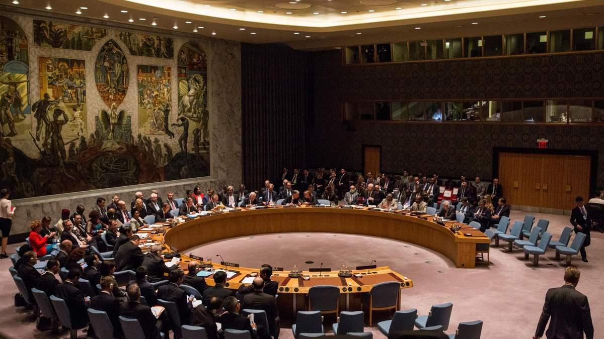 Радад Безопасности ООН созывает заседание из-за ситуации с Навальным