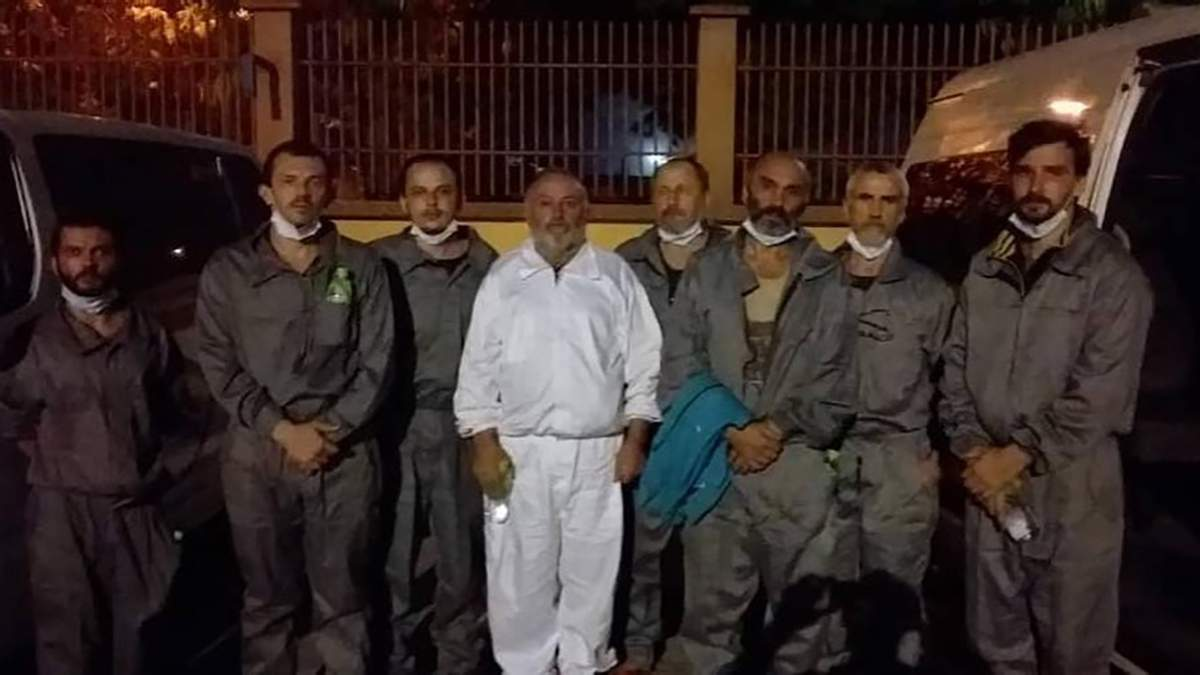 Из плена в Нигерии Украине удалось освободить 6 украинских моряков, все – члены экипажа судна Stevia