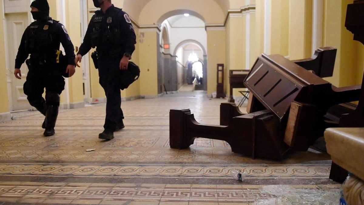 Стало известно, кто финансировал штурм Капитолия 6 января, – СМИ