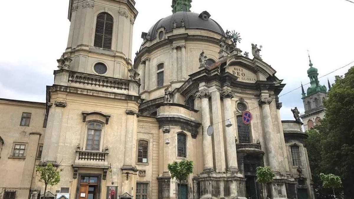 Во Львове завершили реставрацию Доминиканского собора за более 15 миллионов гривен
