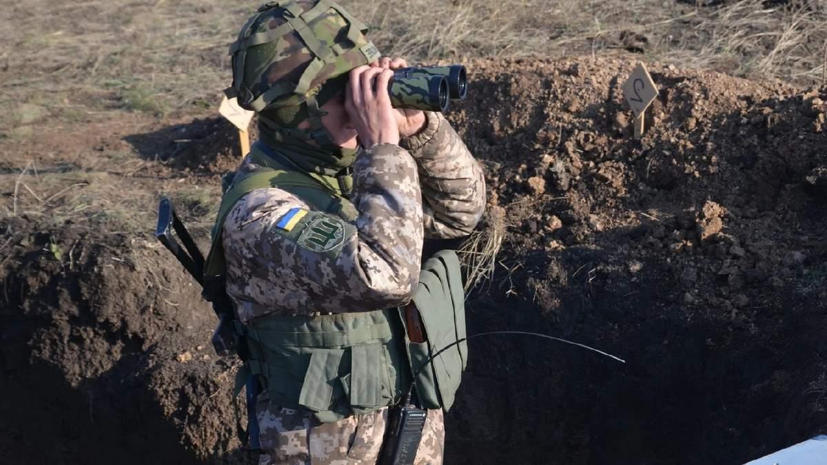 В зоне 28 января 2021 ООС исчез украинский военный