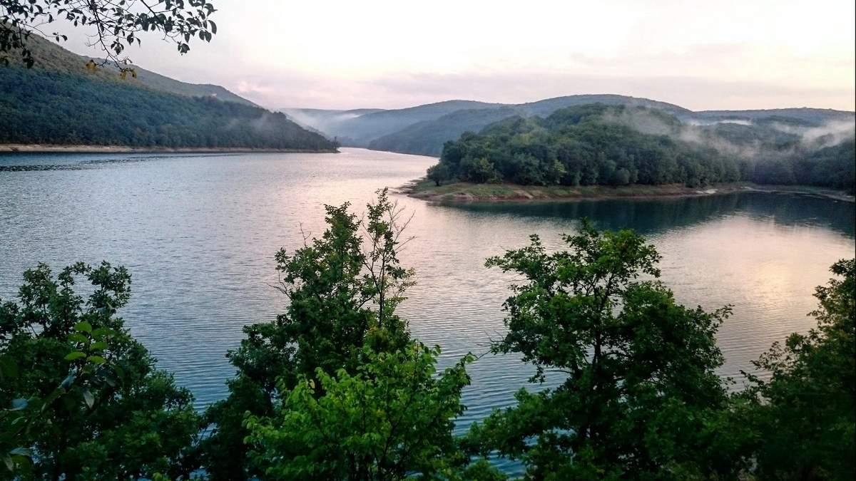 Як виглядало Балкановське водосховище раніше