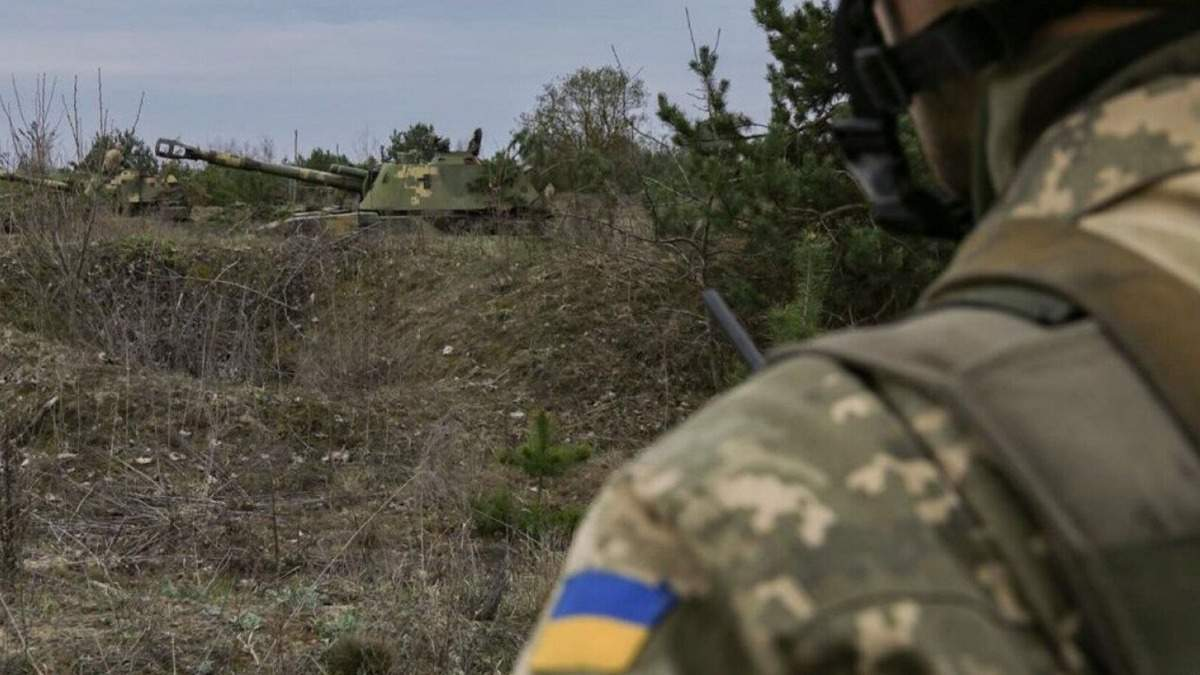 Пропавший в ООС военный находится у боевиков