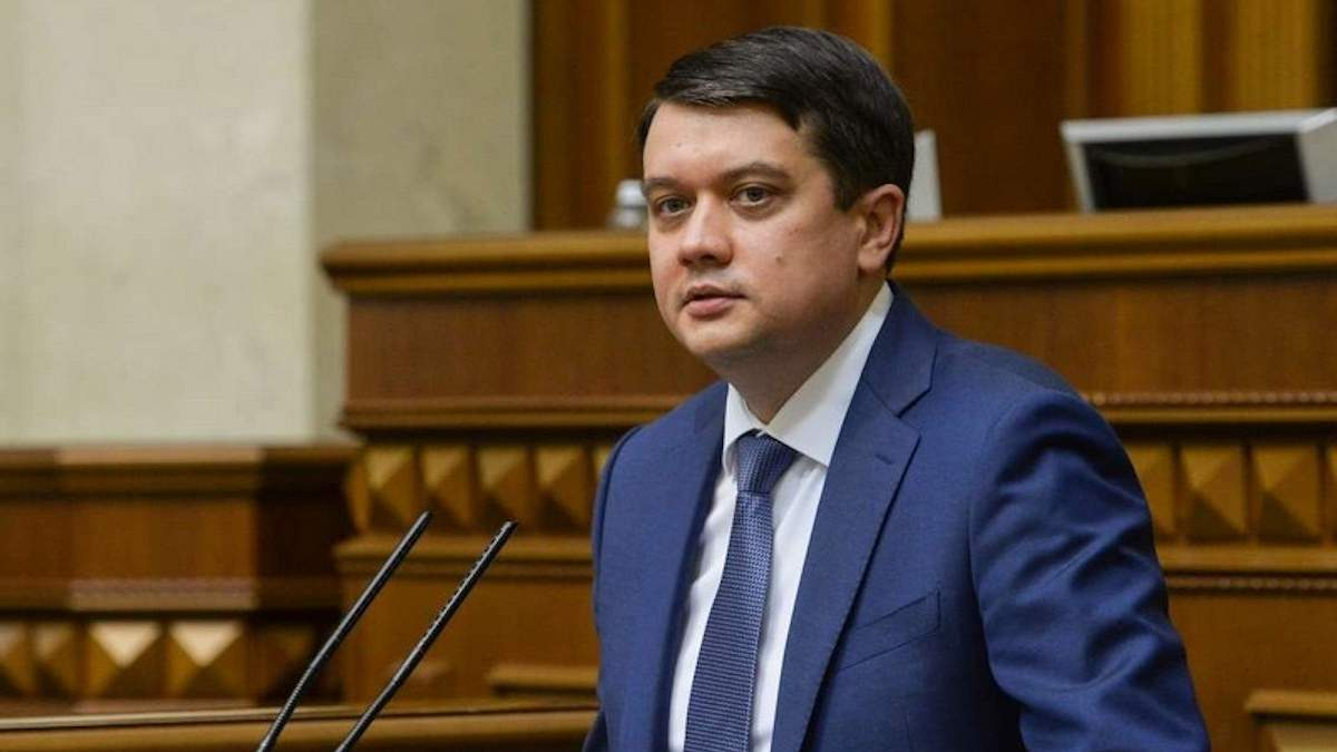 Разумков не поддержал санкции против Козака и каналов Медведчука – СМИ