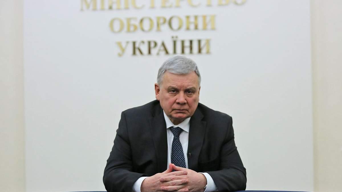 Міністр оборони Таран підтримує санкції проти Козака та його каналів