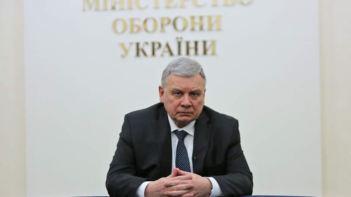 Министр обороны Таран поддерживает санкции против Козака и его каналов