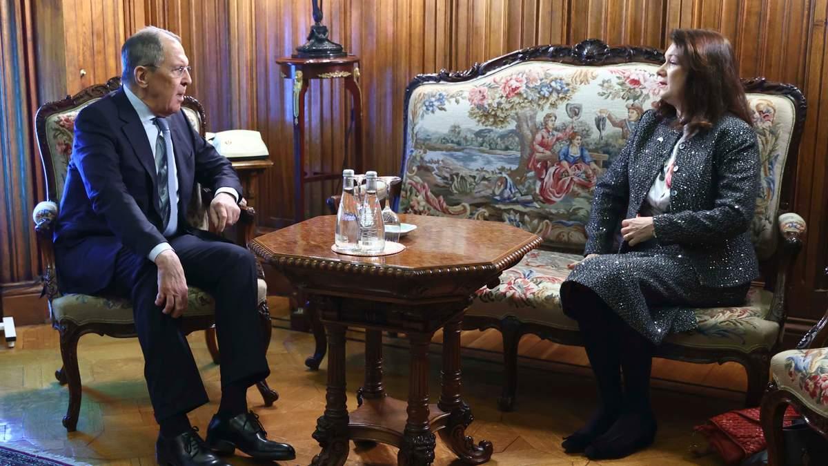 Голова ОБСЄ зустрілася з Лавровим у Москві: обговорювали й Україну