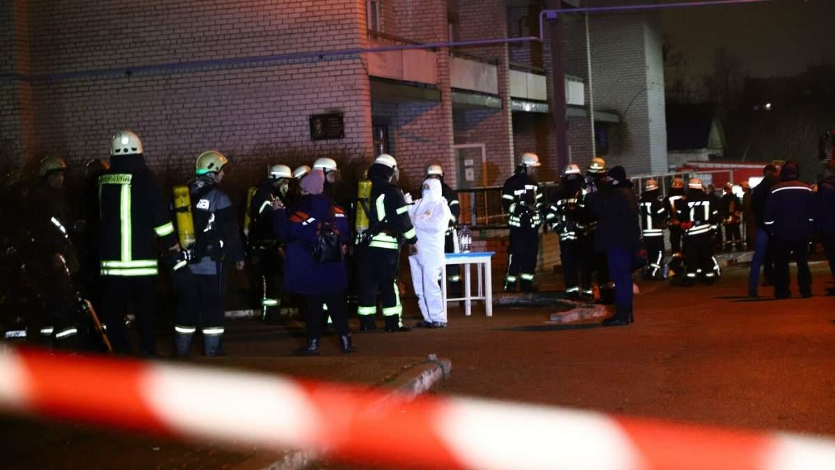 Пожар в инфекционной больнице Запорожья 4 февраля 2021: жертвы, видео, фото