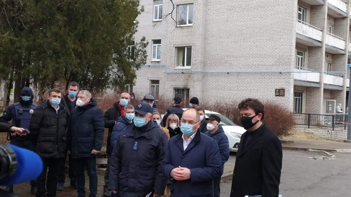 Степанов анонсировал проверки в больницах из-за пожара в Запорожье