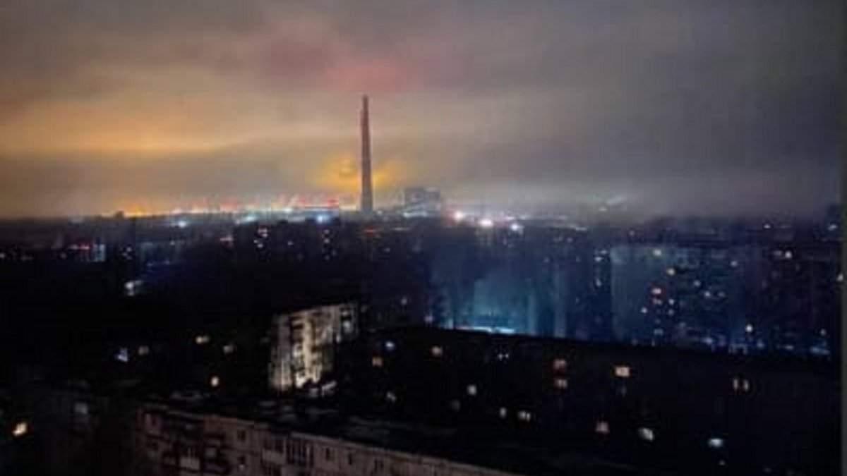 На ТЭС в Запорожье произошла авария