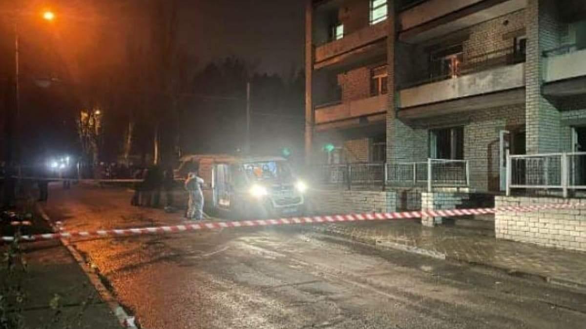 В Запорожье работнику больницы объявили подозрение из-за пожара