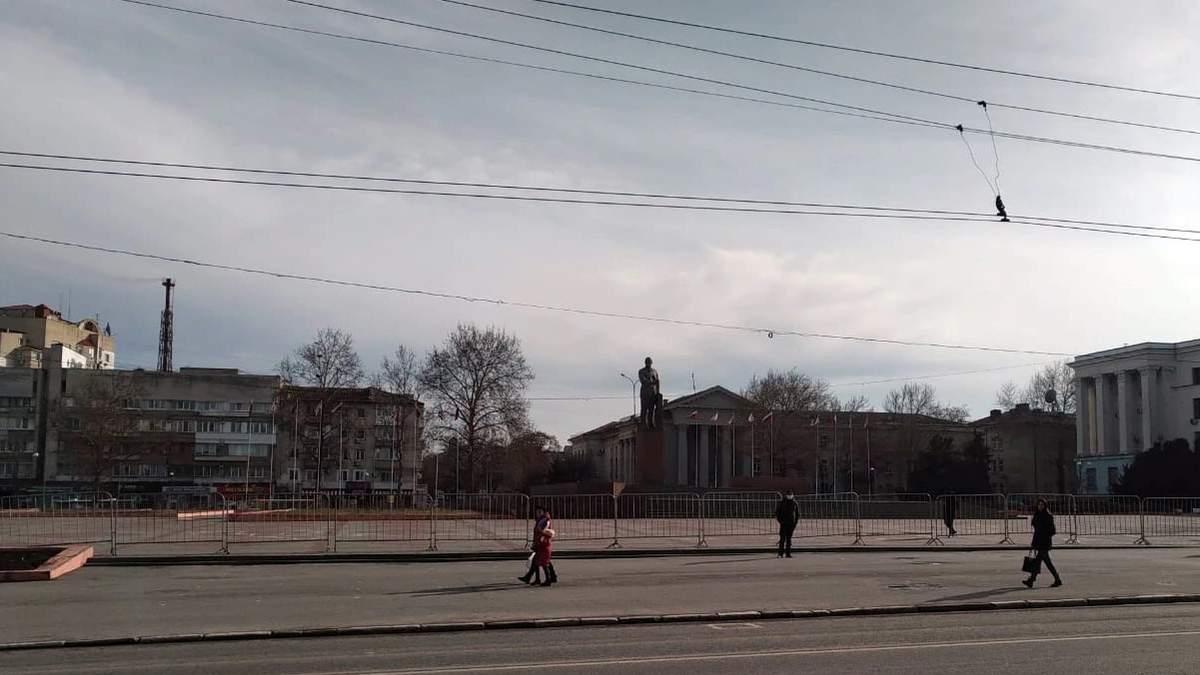 Протест за Навального в Крыму: люди боялись протестовать