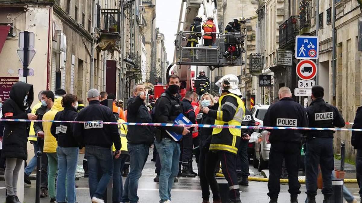 Вибух у Бордо 06.02.2021: поліцейські назвали попередню причину