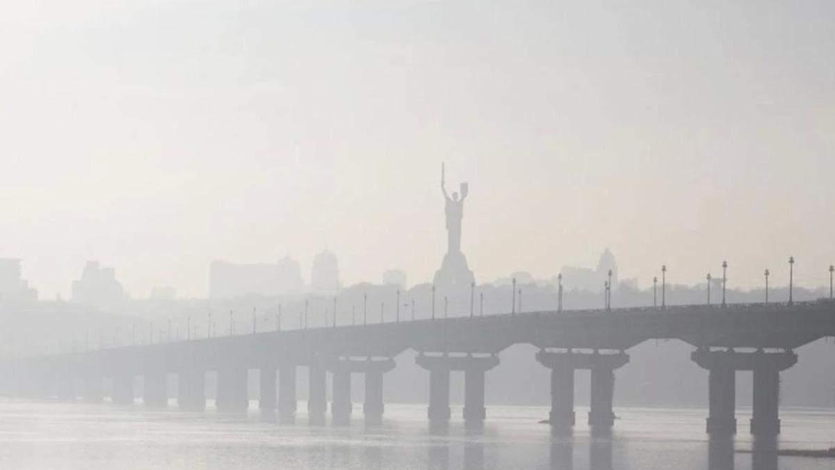 В Киеве снова грязный воздух: столица в топ 20 рейтинга IQair