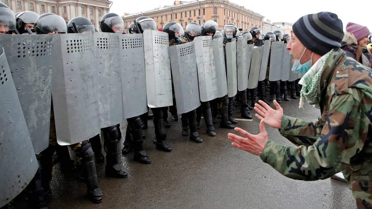 В России повысили штрафы за участие в акциях протесту