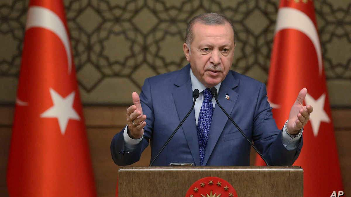 Знайте своє місце, – Ердоган різко відповів Греції на заяву щодо Кіпру