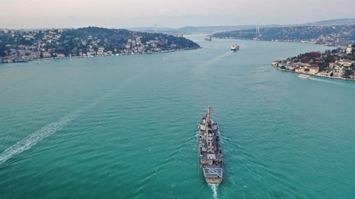 Росія відреагувала на кораблі США у Чорному морі: подробиці