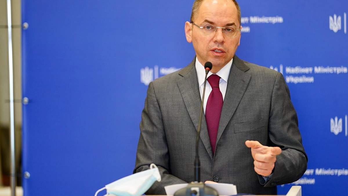 Степанов відреагував на кримінальну справу щодо закупівлі вакцин