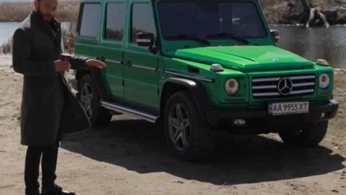 Дубінський продає свої автомобілі: фото, – соцмережі