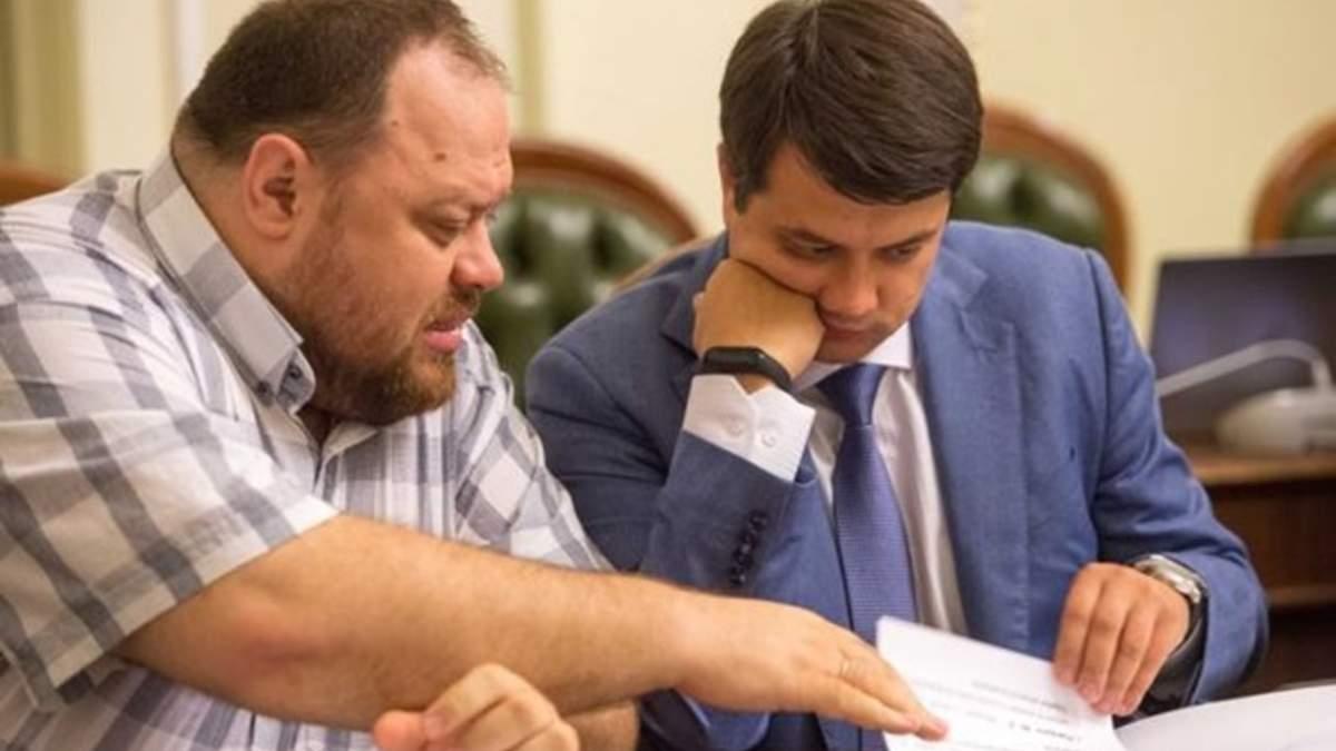 Корнієнко про можливу заміну Разумкова Стефанчуком на посаді спікера